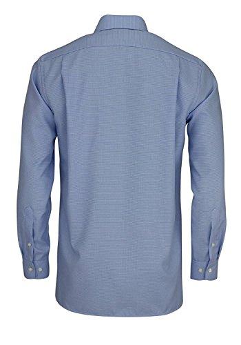OLYMP Modern Fit Hemd extra langer Arm Muster hellblau AL 69 Hellblau