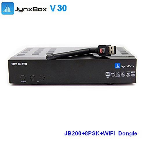 2016 hot sale Jynxbox v30 ultra hd with newcam cccam 8psk with free USB  wifi antenna 43038c4b9