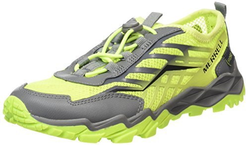 merrell-hydro-run-chaussures-de-sports-aquatiques-mixte-enfant-multicolore-citron-grey-34-eu