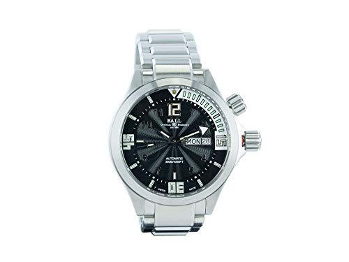 Ball Engineer Master II Diver Uhr, Ball RR1102, Schwarz/Weiss, DM2020A-SA-BKWH