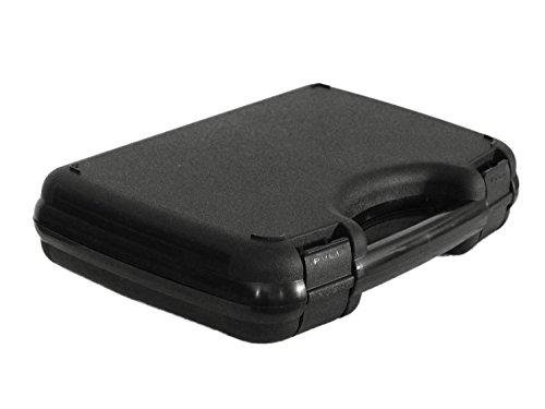 """Begadi Pistolenkoffer / Hardcase """"Bravo"""", Deluxe, aus Kunststoff, mit Schaumstoffeinsatz (31x22cm)"""