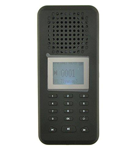 Al aire libre Caza pájaro llamada reproductor de mp320W 126dB altavoz pantalla LCD Batería