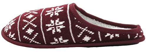 SlumberzzZ , Chaussons pour homme Rouge