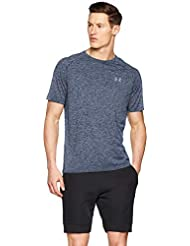 Under Armour UA Tech 2.0 SS tee Camiseta, Hombre, Azul (Academy/Steel 409), S