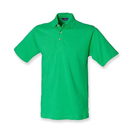 HenburyHerren Poloshirt Grün - Bright Green