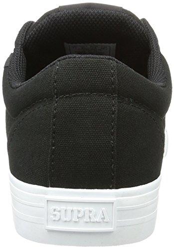 Supra Herren Stacks Vulc II Sneakers Schwarz (BLACK - WHITE 002)