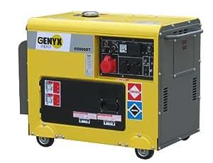 Genyx G5000DT-2 Groupe électrogène Diesel 5000 W
