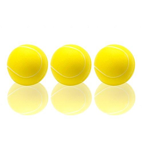 3er Set Tennisbälle Ø 60 mm, Weichschaum, Weichschaumbälle, Softball