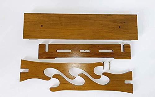 Peiyu supporto per spada in legno massello, supporto da tavolo espositore da tavolo con lama swan katana o wakizashi-c