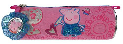 Peppa Pig–Estuche, estuche color rosa