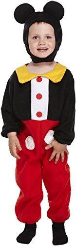 Henbrandt Kostüm für Kinder - Maus, Für Jungen, 3 Jahre