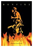 Official Merchandise Band Posterfahne - AC/DC - Bonfire