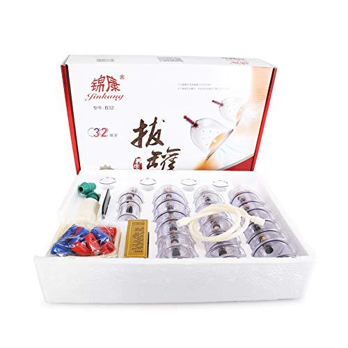 YZU 32 Piezas Tazas succión Tarro acupuntura vacío