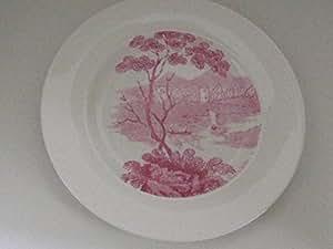 Wedgwood robert dawson collection no 2, castle assiettes plates 27 cm