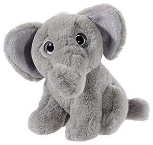 Heunec 275379 Elefante Felpa Gris Juguete de Peluche - Juguetes de Peluche (Elefante, Gris, Felpa, 140 mm, 1 Pieza(s))