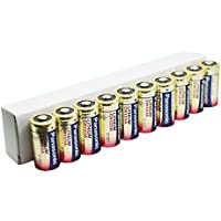 Panasonic CR123 Batteries (CR123a)  - Pack of 10