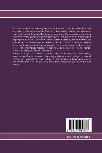 Structural Control: Proceedings of the Second International Symposium on Structural Control, University of Waterloo, Ontario, Canada, July 15–17, 1985