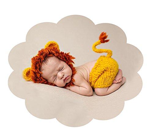 Datangep Neugeborenes Baby Fotografie Requisiten Junge Mädchen häkeln Kostüm Outfits Schlafsack