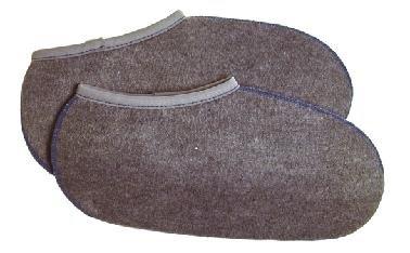 2 Paar Stiefelsocken sogenannte Rosshaarsocken Grau Made in Germany, Farbe:Grau;Größe:43-44 (Thomas Erwachsene Stiefel)