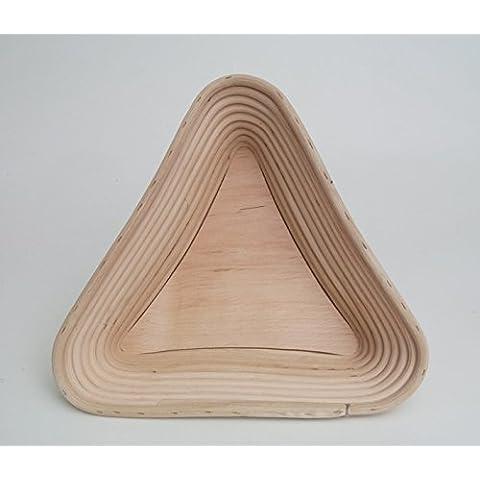 Tres triángulos Pan molde con madera suelo 0,75kg ratán
