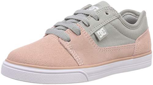 DC Shoes Mädchen Tonik Skateboardschuhe, Beige (Peach PRF Ppf), 29 EU (Dc Schuhe Mädchen)
