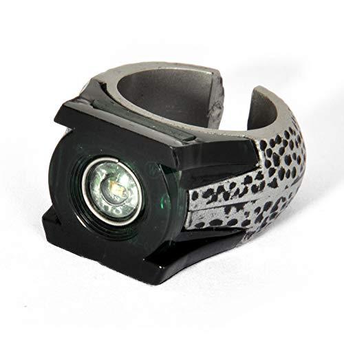 Green Lantern Filmreplik Ring mit Leuchteffekt in Geschenkverpackung