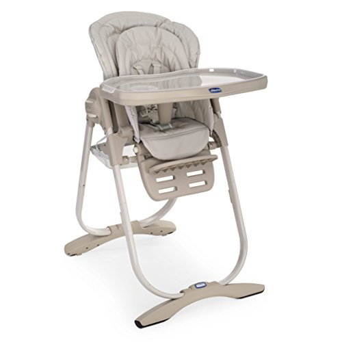 Chicco Polly Magic - Trona compacta para niños de 0 hasta 3 años, 12 kg, color beige