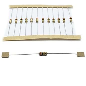 100x 1/4W360K Resistor carbon film THT 360kΩ 0.25W ±5% Ø2.5x6.8mm ROYAL OHM