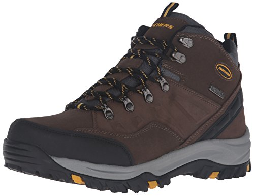 Skechers Men's Relment-Pelmo Boots, Brown (Khaki), 10 UK 45 EU