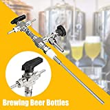 Features: Ergonomic design. It is made of high quality 304 stainless steel, very durable for your long time use. Great helper for storing homebrew beer in kegs. Compact, lightweight and portable. Easy to use. Descriptions: Usage: 1.The unit is insert...