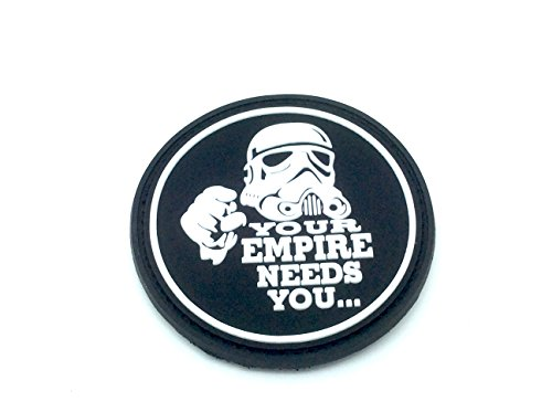 Your Empire Needs You Stormtrooper Star Wars PVC Airsoft Velcro Patch Toppa