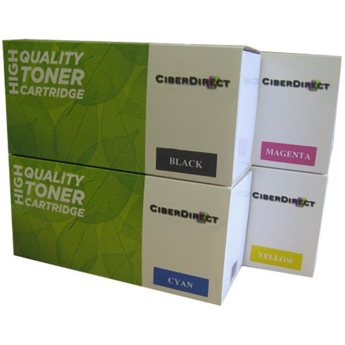 Cheapest 4 CiberDirect HIGH YIELD Compatible Laser Toner Cartridges For Use With HP Color LaserJet Pro MFP M277dw. One Full Set – 2,800 (black) & 2,300 (colours) Pages Each. on Amazon