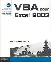VBA pour Excel 2003 (1Cédérom)