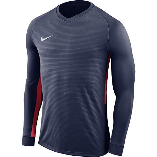 Nike - Trikot Tiempo Premier Kinder T-shirt, Blau (Midnight Navy), M, 894113-410 Nike Jersey Capri