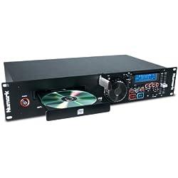 Numark MP103USB - Double Lecteur USB et CD en Rack avec Commandes de Pitch et de Tempo, Ensemble Complet d'Entrées/Sorties et Compatibilité CD et CD MP3