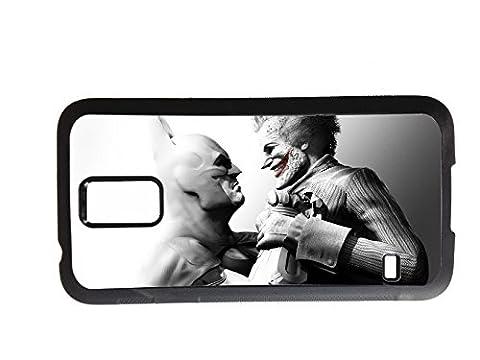 Batman, Joker, GPO Groupe Design Batman & Joker Exclusif pour Samsung Galaxy S3, Samsung Galaxy S4et Samsung Galaxy S5Coque arrière rigide en caoutchouc, motif, Caoutchouc, Samsung Galaxy