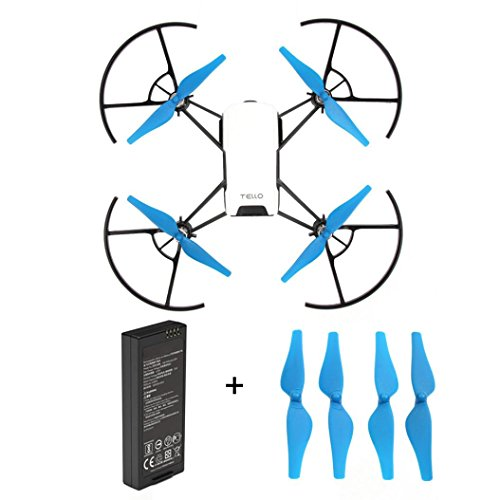 Kingko Batterie für Mini-Drohne mit Micro-USB-Anschluss, 1100 mAh Kapazität und 3,8 V Für DJI...