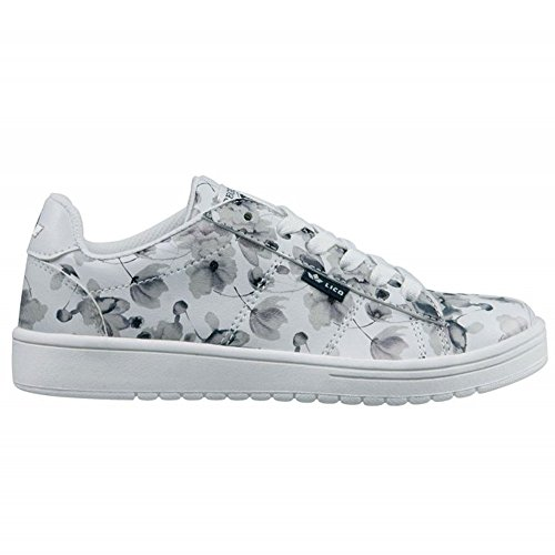 Lico Center, Sneakers basses fille Weiß (WEISS/GRAU)