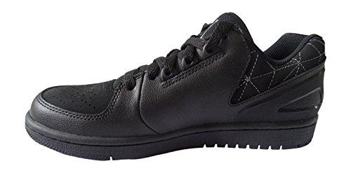 Nike Herren Jordan 1 Flight 3 Low Turnschuhe Schwarz / Grau (Schwarz / Grau-Schwarz)