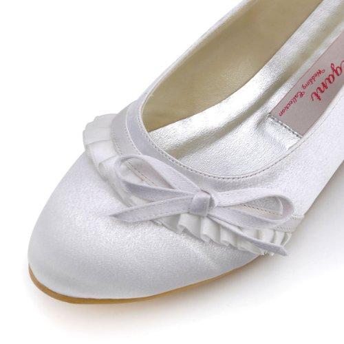 Elegantpark ,  Ballerine donna Bianco (bianco)
