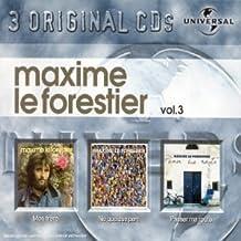 Coffret 3 CD : Maxime Le Forestier Vol. 3 : Passer ma route / Né quelque part / Mon frêre