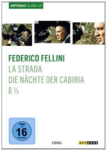 Bild von Federico Fellini - Arthaus Close-Up ( La Strada - Das Lied der Strasse / Die Nächte der Cabiria / 8 1/2 ) [3 DVDs]