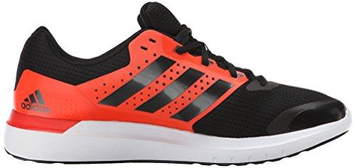 Adidas Performance Duramo 7 M Laufschuh, schwarz / silber / grau, 6,5 M Us Black / Silver / Red