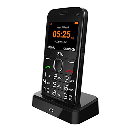Telefono Movil ZTC SP54 Senior Phone Black