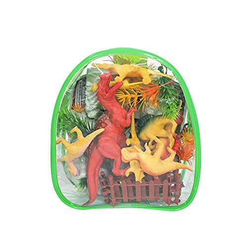 (SinceY Dinosaurier Spielzeug, 32 Stück Dinosaurier Modell Intelligentes Spielzeug Set für Kinder, Dinosaurier Spielzeug Kindergeburtstag Party Dekoration)