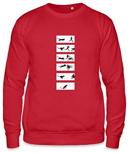 Cheetah Run Unisex Sweatshirt Small