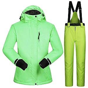 QZHE Skianzug Snowboard Anzüge Frauen Winter Winddicht Wasserdicht Weibliche Ski Jacke Und Schneehose Sets Super Warme Frauen Skianzug