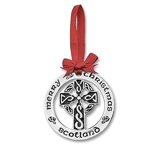 Versilbert Weihnachtsdekoration Keltisches