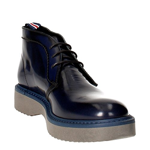 Docksteps DSE103770 Chaussures À Lacets Homme Cuir Abrasé Bleu Bleu