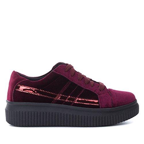 bass3d 041379, Sneaker Basse Donna Bordeaux